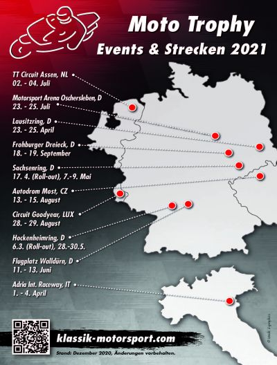 Moto Trophy Events & Strecken 2021